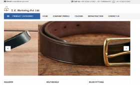 Deals in Metal Fittings for Leather Accessories