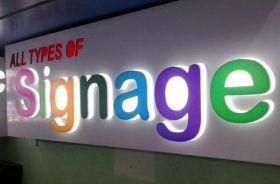 Signage in Dubai