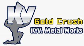 K. V. Metal Works brand Gold Crush