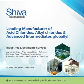 Shiva Pharmachem - Leading manufacturer of Acids and Alkyl Chlorides