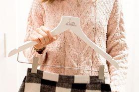 Ladies Hangers | All Hung Up Hangers