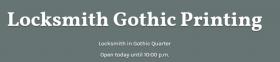 Cerrajería Gothic La impresión
