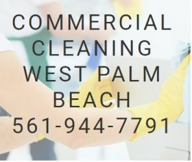Commercial cleaning west palm beach