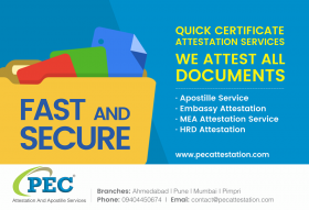 PEC Attestation and Apostille Services India Pvt. Ltd.