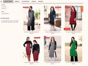 Ladies woolen kurtis manufacturer Ludhiana