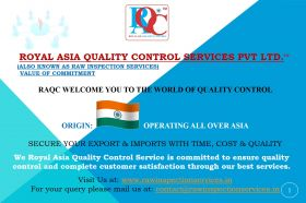 Royal Asia Quality Control Services Pvt. Ltd. ™