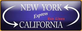 CA - NY Express cross country movers SF
