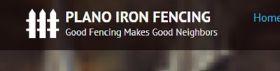 Plano Iron Fencing