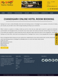 Flywings Online Hotel Room Booking in Chandigarh