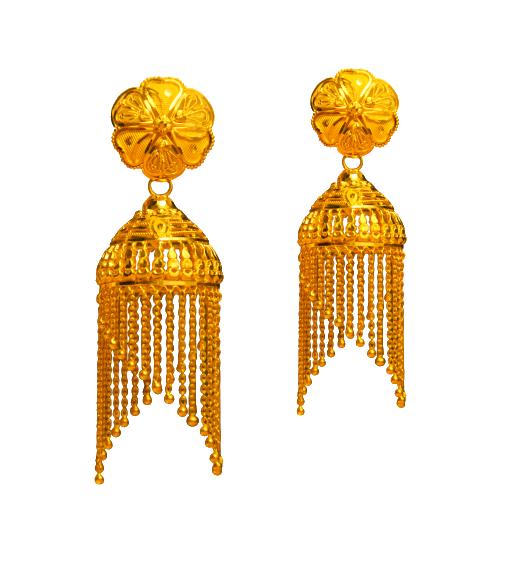 Gold Earring ( Jhumko Ear ring )