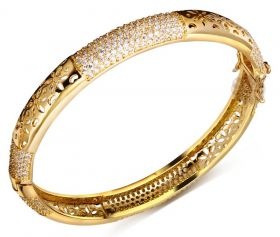 Bridal Gold Bangle