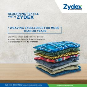 Textile Printing Solutions by Zydex