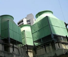 frp induced draft counter flow cooling towers