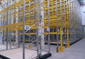Motorized Pallet Racking