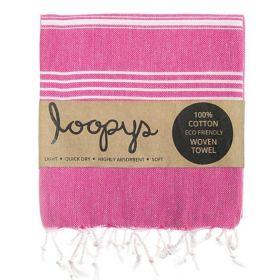 Pink Lemonade Original Turkish Towel From Loopys