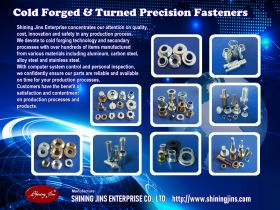 Cold forged screws and shafts made in Taiwan