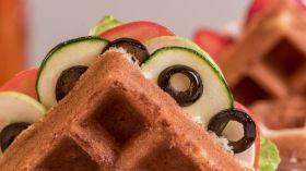 Eggless Belgian Waffle Premix