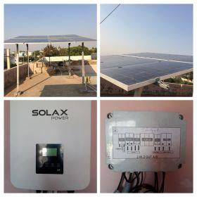 Grid-Tied rooftop solar plants installation