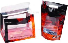 ROTISSERIE CHICKEN BAGS, MIRCOWAVE POUCH, HOT ROAS