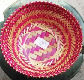 Pink Round Gift Basket