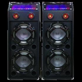 OS 10X2K BT MUF Multimedia DJ Speaker