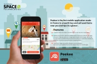 Peekee iPhone App - Buy & Sell used Objects
