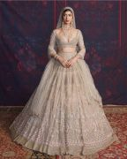 Rosalie beige based Multicolored Lehenga