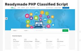 Readymade PHP Classified software script