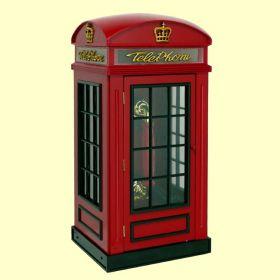 Steepletone Red Phone Box