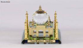 Crystal Brass 3.5-inch Taj Mahal Miniature