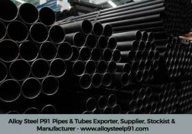 Alloy Steel P91 Pipes & Tubes