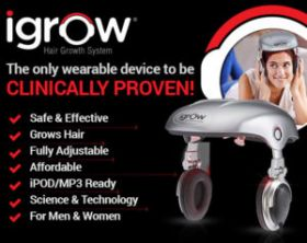 iGrow - Hands Free Laser  Hair Growth System
