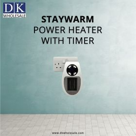Staywarm Power Heater with Timer | DK Wholesale