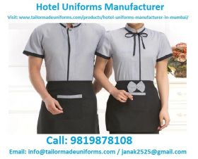 Hotel Uniform Manufacturers