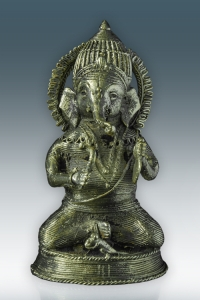 Sitting Ganesh Musician