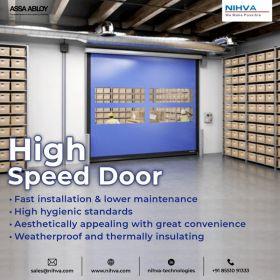 High speed doors | NIHVA