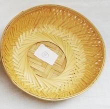 Round Natural Gift Decoration Basket