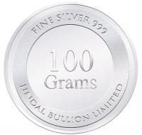 100 Gram Silver Coin