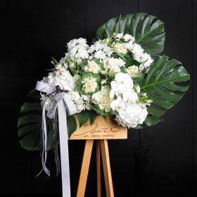 flora stand   bereavement / bfsb   don't leaf me