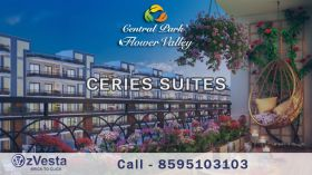 1210sqft Low Rise 2BHK Cerise Suites Apartment