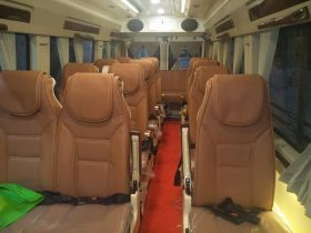 16 Seater Luxury Tempo Traveller On Rent In Delhi
