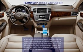 Flamingo Portable Air Purifier
