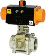 Pneumatic Operated Ball Valve
