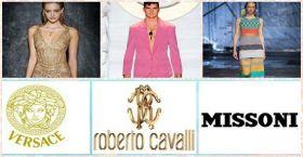 Versace | Missoni | Roberto Cavalli