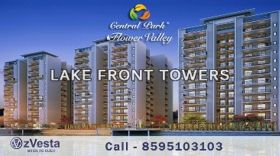 1590sqft 3BHK Flower Valley Lake Front Tower