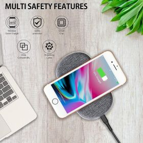POWERUP® Wireless Charger Pad 10W Dual Coil & High