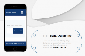 Train Seat for Ticket Booking
