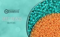 Buy miyuki Seed Beads | Gold Seed beads