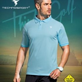 Plain Light Blue Sports T Shirt