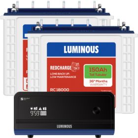 LUMINOUS ZELIO 1700 + RC18000 150 AH - 36* MONTHS